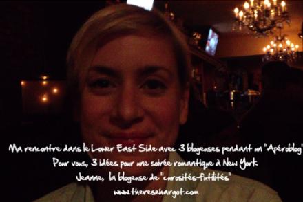 3 blogeuses pour 3 idées pour une soirée romantique à New York