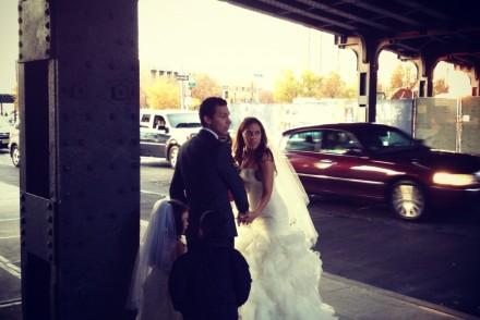 Mariés sous la High Line