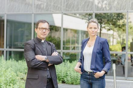 Monseigneur Gobilliard et Thérèse Hargot